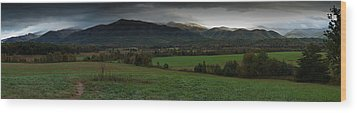 Cades Cove Panoramic Wood Print