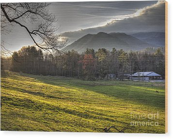 Cades Cove, Spring 2016,ii Wood Print by Douglas Stucky