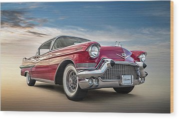 Wood Print featuring the digital art Cadillac Jack by Douglas Pittman