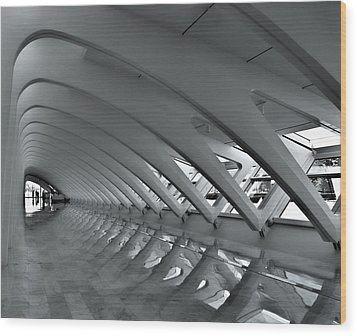 Calatrava 3 Wood Print by Gordon Engebretson