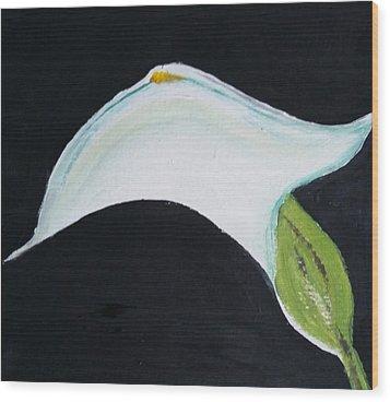 Cali Lily Pride Wood Print