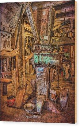 California Pellet Mill Co Wood Print by Thom Zehrfeld