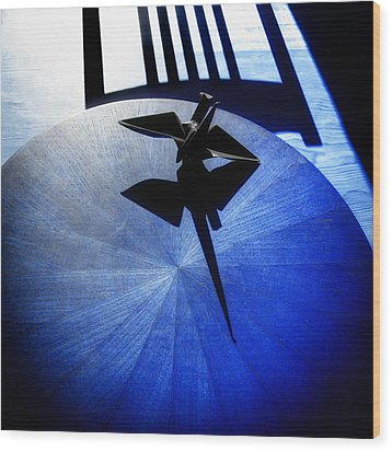 California Blue Wood Print by Wayne Sherriff