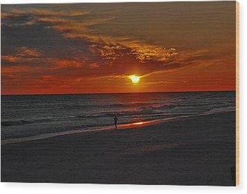 California Sun Wood Print by Susanne Van Hulst
