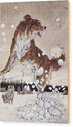 Call Of The Wild Wood Print by Granger