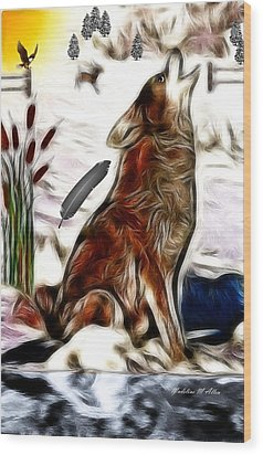 Call Of The Wild Wood Print by Madeline  Allen - SmudgeArt