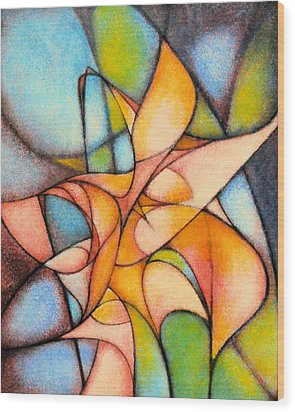 Calla Lillies Wood Print by Kevin Lawrence Leveque
