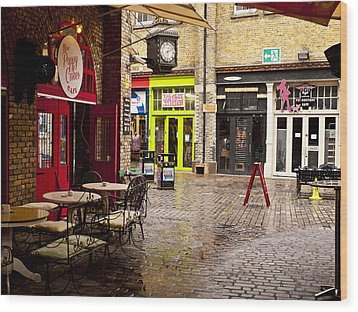 Camden Stables Market Wood Print by Rae Tucker