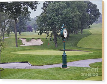 Camel Sand Trap In Medinah Wood Print
