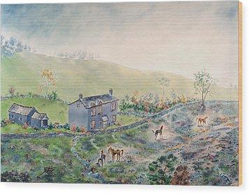 Camelot Wood Print by Richard Barham