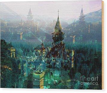 Camelot Wood Print by Tammera Malicki-Wong