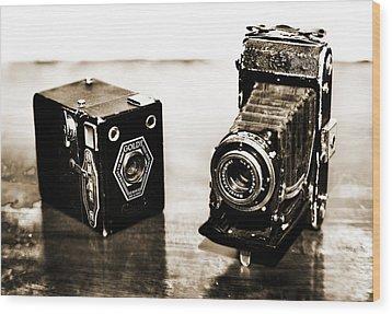 Cameras Wood Print by Thomas Kessler