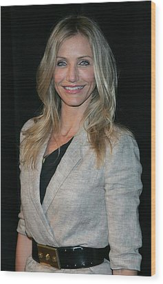 Cameron Diaz Wearing An Elizabeth & Wood Print by Everett