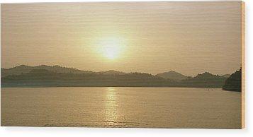 Cameroon Sunrise Africa Wood Print