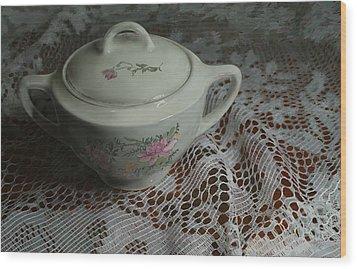 Camilla's Sugar Bowl Wood Print