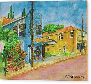 Camilles Place Wood Print by Eric Samuelson