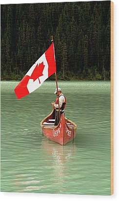 Wood Print featuring the photograph Canada Day... by Al Fritz