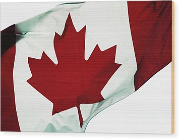 Canada Wood Print by John Rizzuto