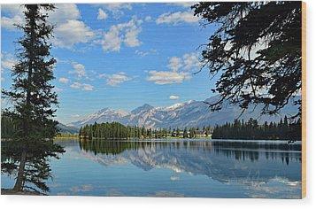Canadian Rockies No. 4-1 Wood Print