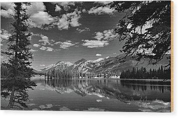Canadian Rockies No. 4-2 Wood Print