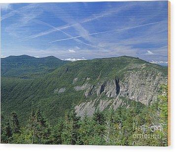 Cannon Mountain - White Mountains New Hampshire Usa Wood Print by Erin Paul Donovan