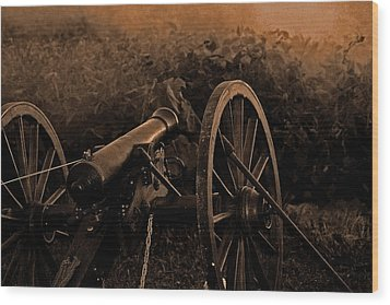 Canon Wood Print by Martin Morehead