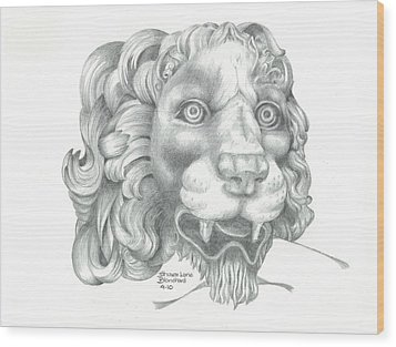 Canova Wood Print by Sharon Blanchard