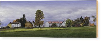 Canterbury Shaker Village Nh Wood Print by Betty Denise