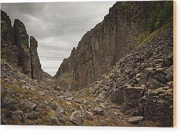 Canyon Aku Aku Wood Print by Konstantin Dikovsky