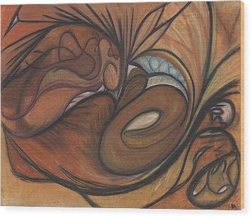 Canyon Dancer Wood Print by Stu Hanson