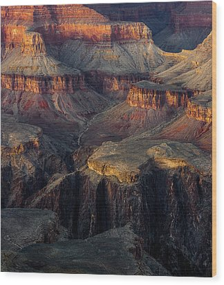 Wood Print featuring the photograph Canyon Enchantment by Carl Amoth