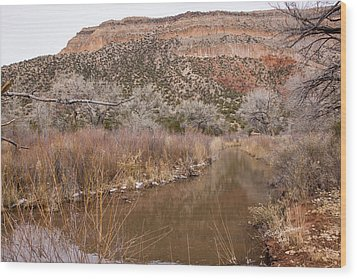 Canyon River Wood Print