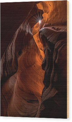 Canyon Star Wood Print