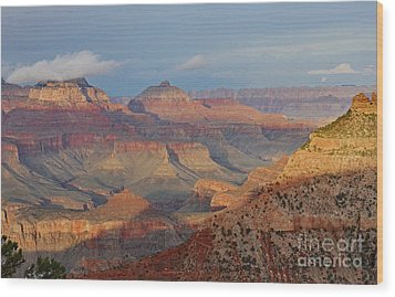 Canyon Sunset Wood Print