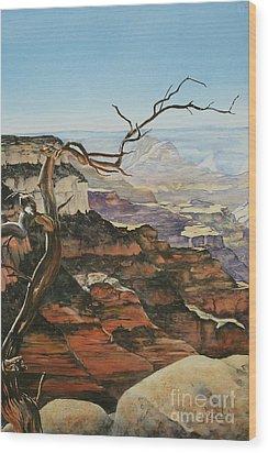Canyon View Wood Print