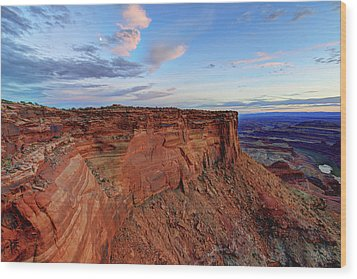 Canyonlands Delight Wood Print by Chad Dutson