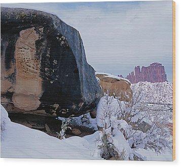 Canyonlands Swirl Wood Print