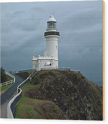 Cape Byron Lighthouse Wood Print