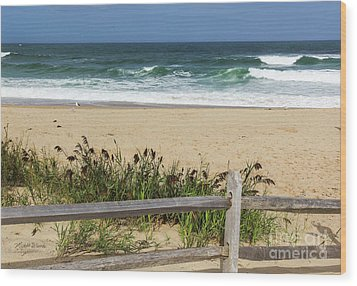 Wood Print featuring the photograph Cape Cod Bliss by Michelle Wiarda