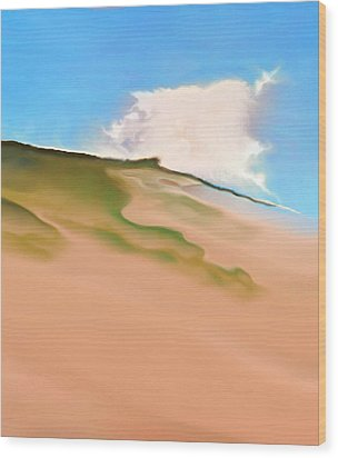 Cape Cod Wood Print by Jurek Zamoyski