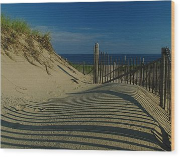 Cape Cod National Seashore Wood Print by Juergen Roth