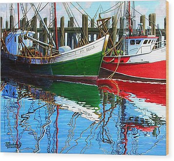 Cape Cod Paintings  Wood Print