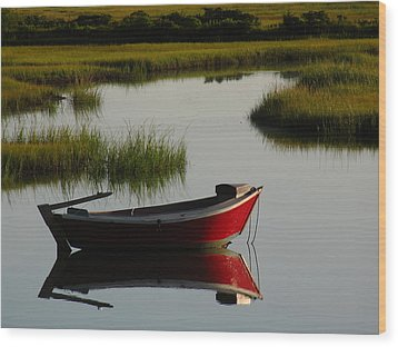 Cape Cod Photography Wood Print by Juergen Roth