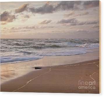 Wood Print featuring the photograph Cape Cod Sunrise 1 by Susan Cole Kelly