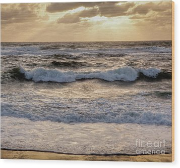 Wood Print featuring the photograph Cape Cod Sunrise 2 by Susan Cole Kelly