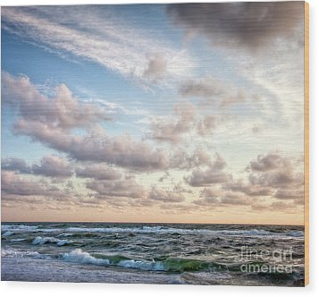 Wood Print featuring the photograph Cape Cod Sunrise 3 by Susan Cole Kelly