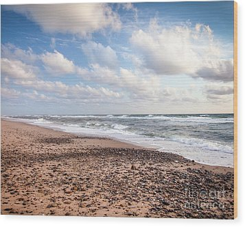 Wood Print featuring the photograph Cape Cod Sunrise 4 by Susan Cole Kelly