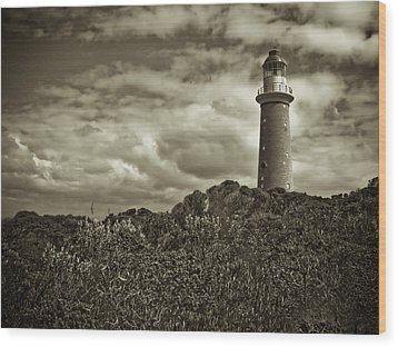 Wood Print featuring the photograph Cape Du Couedic by Tom Vaughan