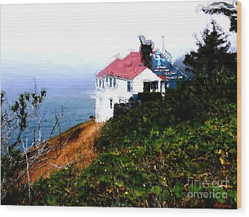Cape Foulweather Wood Print by Methune Hively