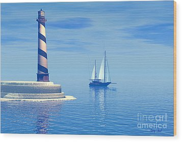 Cape Hatteras Wood Print by Corey Ford